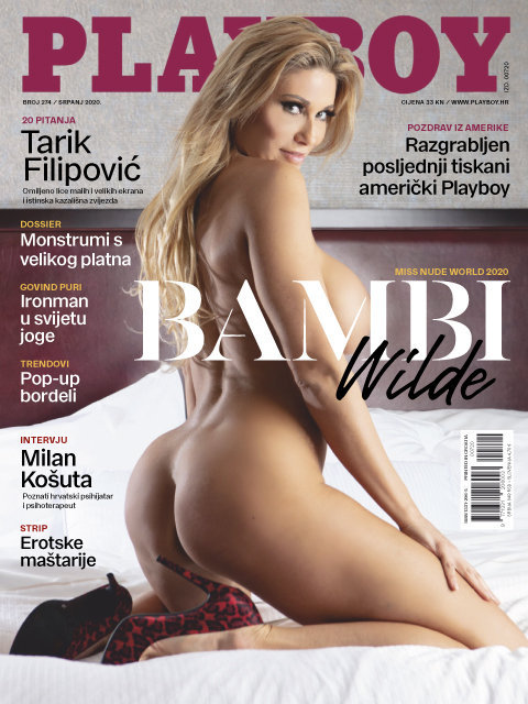 Playboy Croacia – Julio 2020 PDF